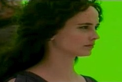 Eva Green - Access Hollywood BTS Footage